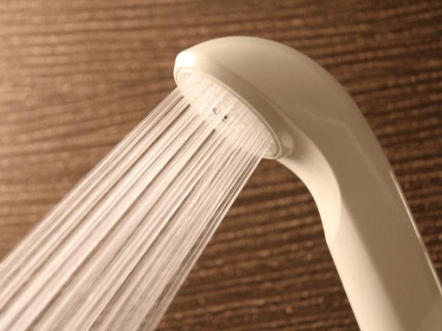 水圧の強いシャワー