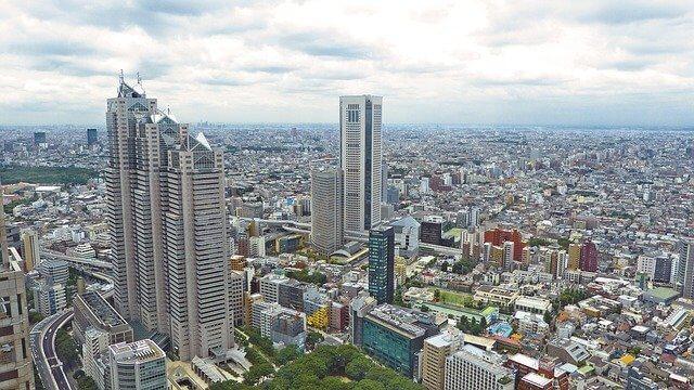 高層ビルのある大都市