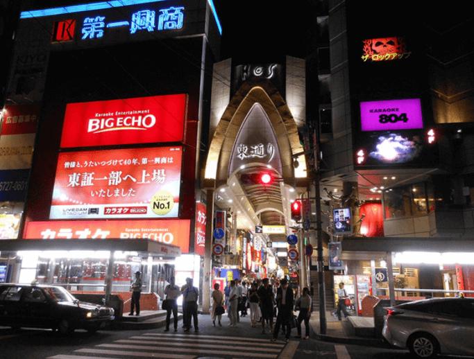 梅田の東通り商店街