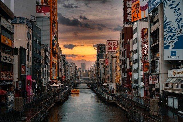 大阪のお店や街並み